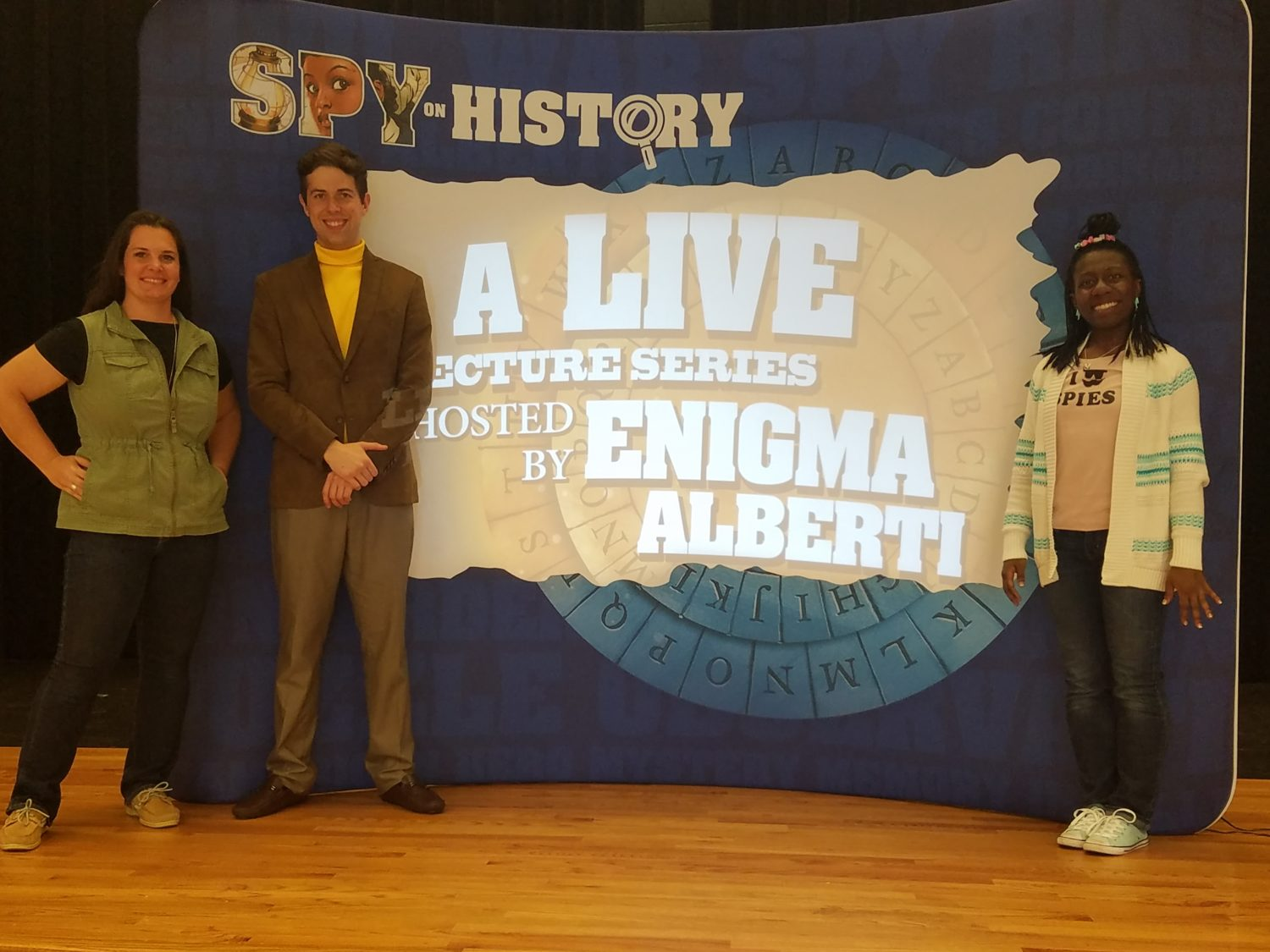 Spy on History Live! Presentation with the Story Pirates